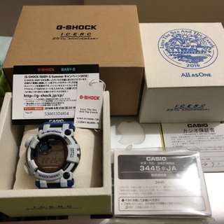 Casio Gshock GWF-D1000K-7JR 25TH 海洋蛙(全球限量1500隻)