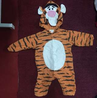 Baby Jumpsuit Animal  (Tiger)
