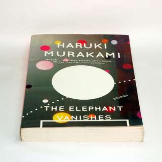NEW The Elephant Vanishes - Murakami