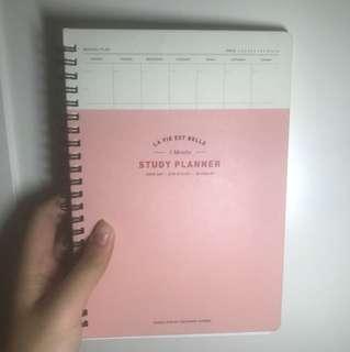 3 months study planner