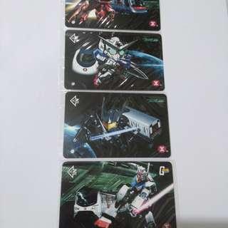 MTR x Gundam 港鐵紀念車票