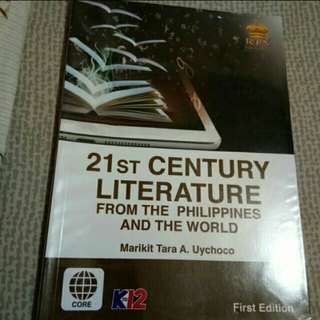 21st Century Literature Book
