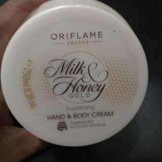 Hand & body cream oriflame