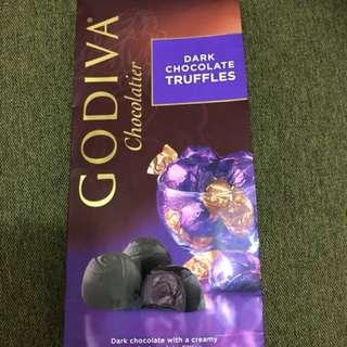 Godiva- dark chocolate truffles (198g)(19-20粒)