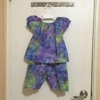 Baju Batik Set