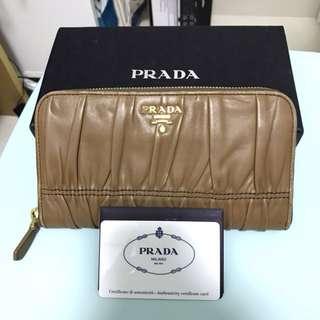 Prada 長銀包 80% new made in Italy