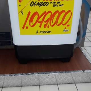 Mesin cuci 2 tabung Cukup bayar admin 199.000 proses 30 menit
