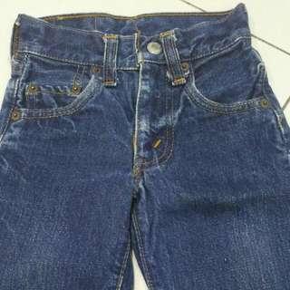 Vintage Levis Toddler Jeans