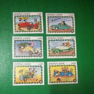 4 迪士尼郵票