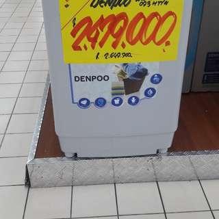 Mesin cuci tpo loading cukup bayar admin 199.000 proses 30 menit