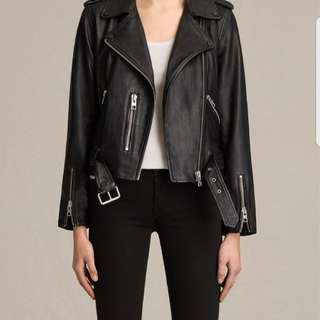 All Saints best seller Balfern leather jacket