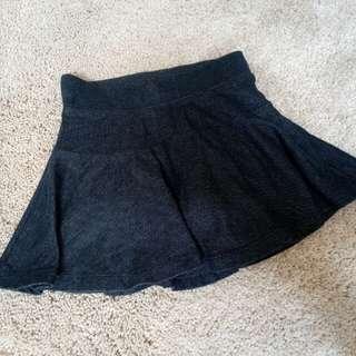 Soft denim skirt