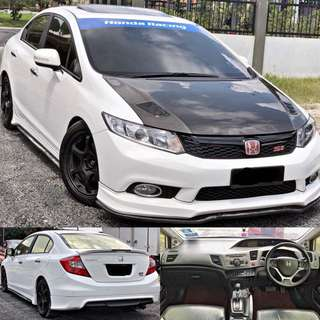 SAMBUNG BAYAR / CONTINUE LOAN   HONDA CIVIC FB 2.0 FULLSPEC