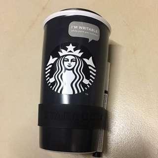 Starbuck writable coffee mug with pen