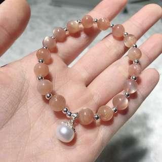 太陽石珍珠手鏈