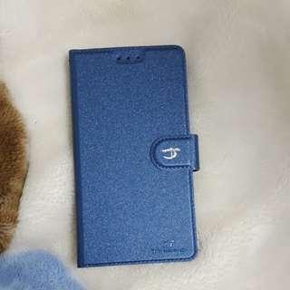 🚚 OPPO R11 藍色側掀皮套