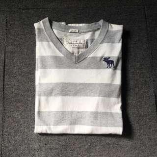 Abercrombie & Fitch Stripe T-Shirt