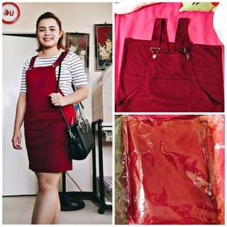Cotton Jumper Skirt (free size, stretchable, X,S,,M,L sizes) Maroon