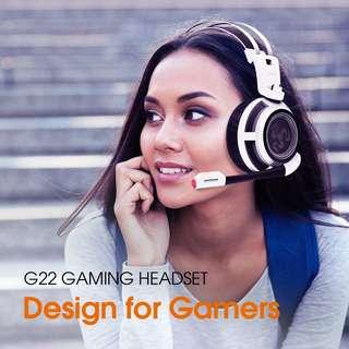 台灣 Kworld 廣寰 G22 Gaming Headset 電競專用耳機  (Gaming,Headset,電競,耳機,喇叭,低音)