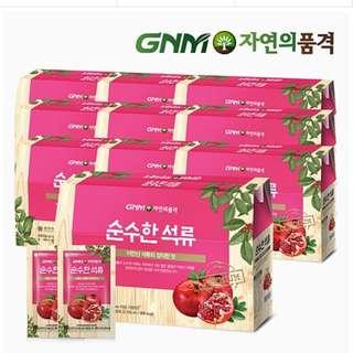 代購 韓國 GNM 石榴汁