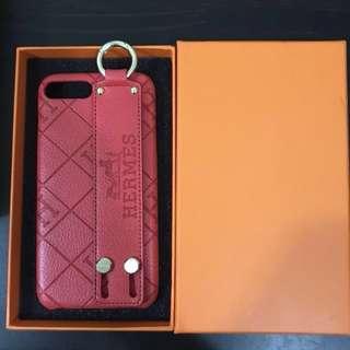 Hermès red iPhone 7 Plus phone case