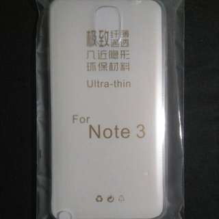 Samsung Galaxy Note 3 透明手機套