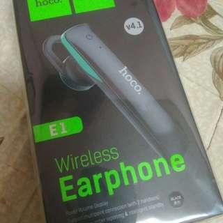 Hoco wireless earphone