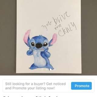 Handmade Stitch Mad Love Card