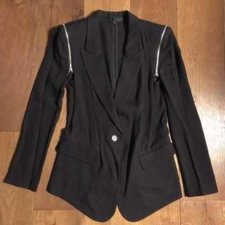 Izzue全新黑色型格外套