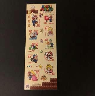 日本Mario郵票
