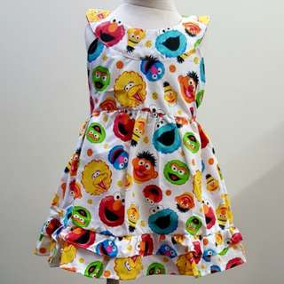 🌻sesame street dress