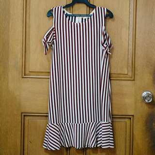 Zara Girls striped dress
