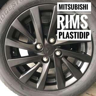 Mitsubishi Attrage Plastidip Mobile Service Plasti Dip