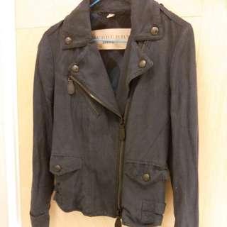 Burberry jacket size UK 8 navy