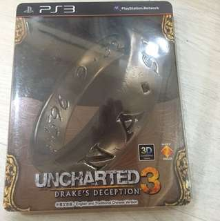 PS3 Uncharted 3 (Steel Case)