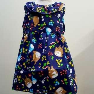 🐿 Totoro v-back dress