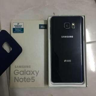Samsung Galaxy Note 5 Black Sapphire 32GB SME