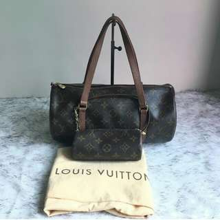 Louis Vuitton Papillon 30 with baby