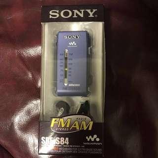 全套配件齊全 Sony S84 收音機 ($450)