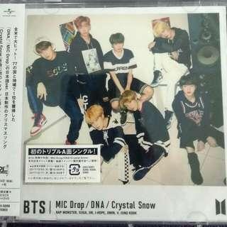 [Clearance] BTS MIC DROP/DNA/Crystal Snow (Version B)