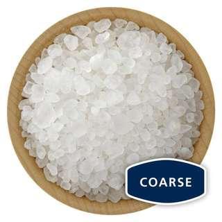 Sea salt, coarse