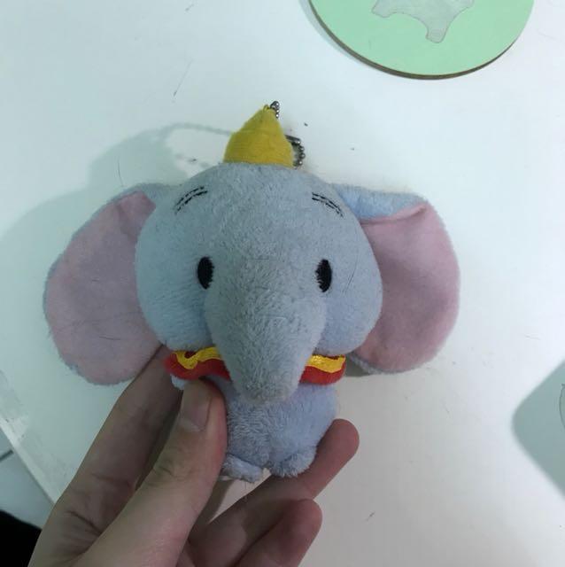 迪士尼 小飛象 吊飾