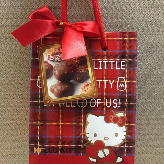 預購 日本 KITTY巧克力+提袋