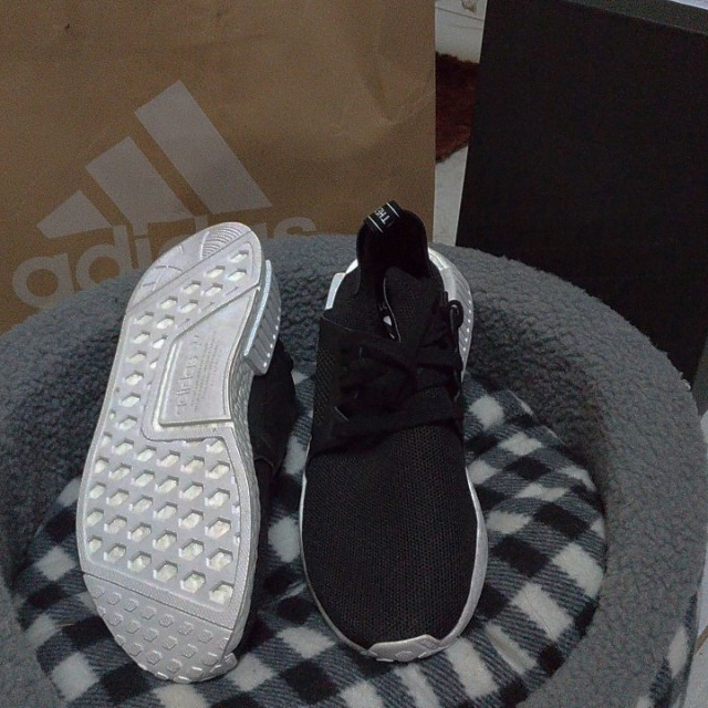 Adidas NMD XR1 black   white original size 42eur fc22b06c67