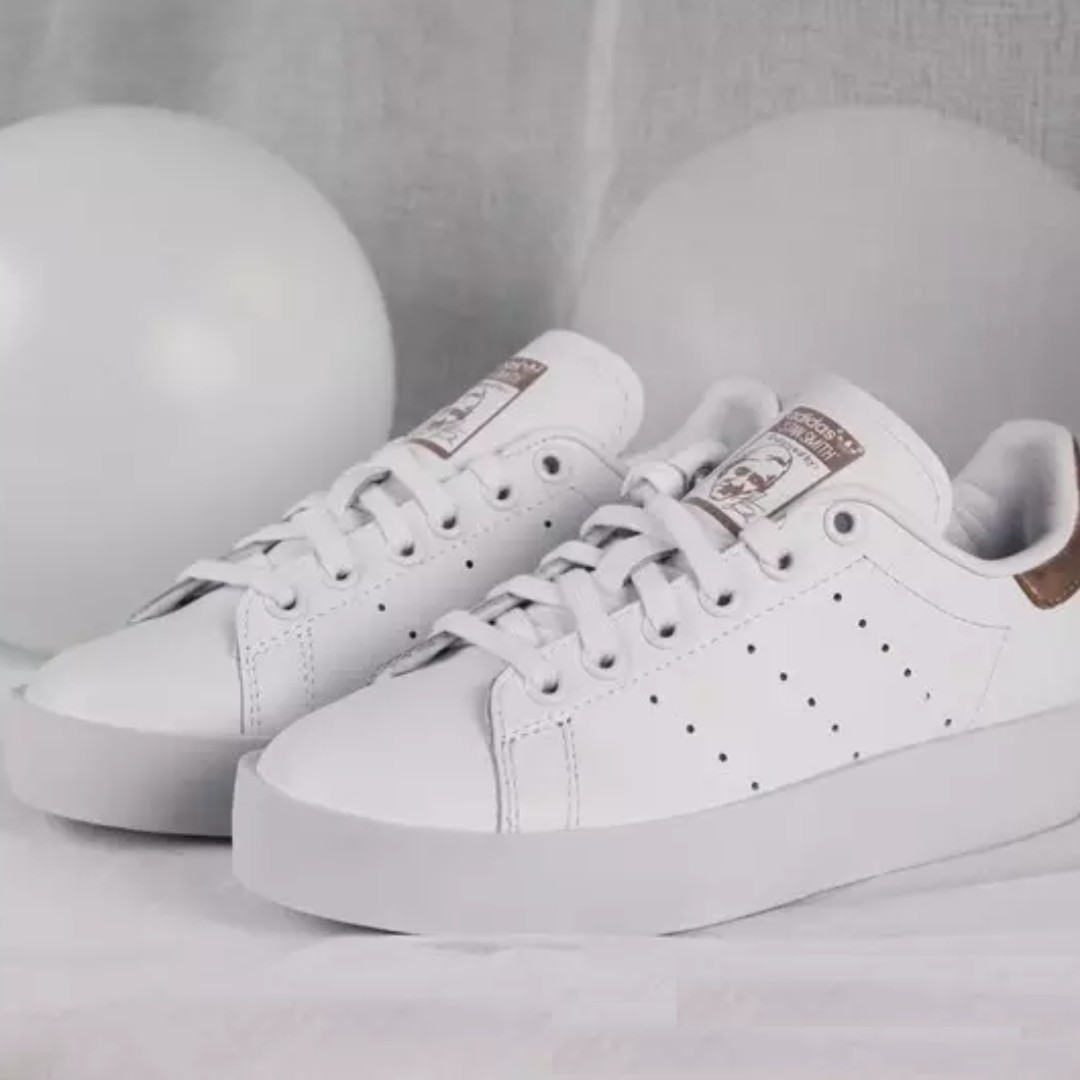 new style f3302 1690a Adidas Stan Smith Bold