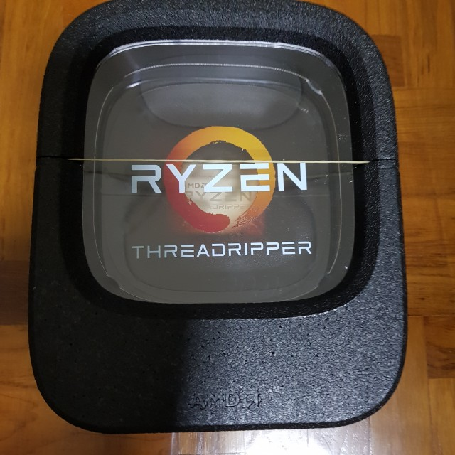 AMD Ryzen Threadripper 1920x processor (desktop CPU)