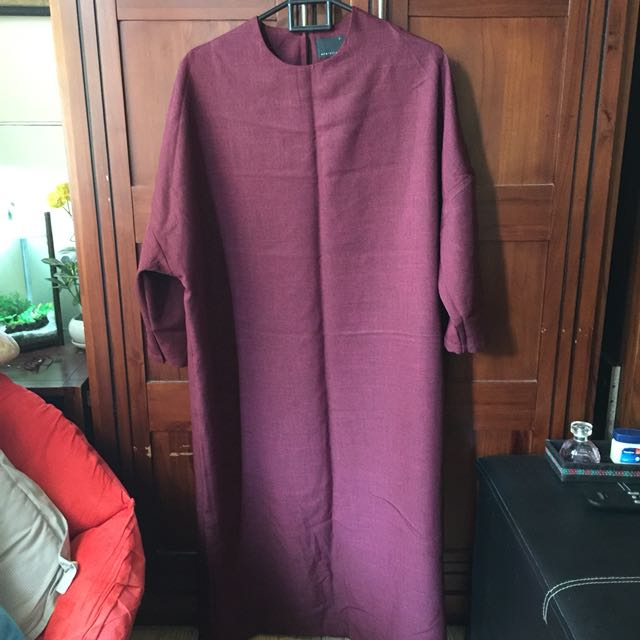 ATS The Label Maroon Maxi Dress