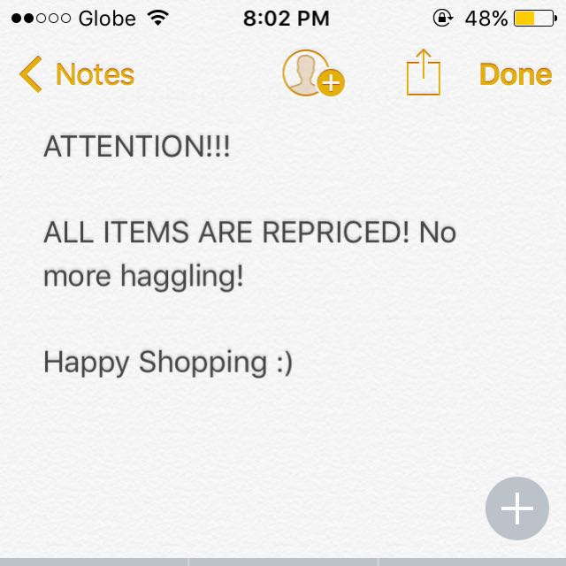 ATTENTION ALL SHOPPERS!!!