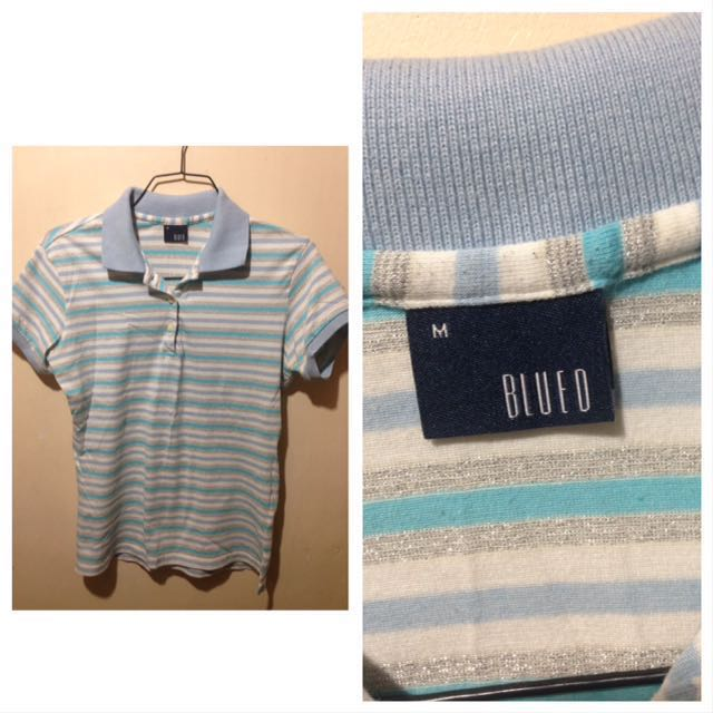 💯Authentic Blued top