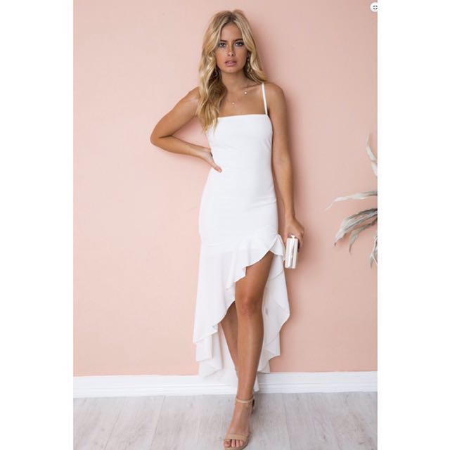 5ea8d71e517 Authentic Dollygirlfashion High Low White Dress